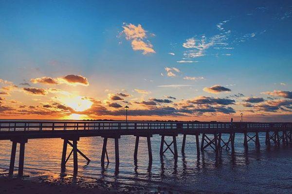 Pier sunrises never get old. 🌅