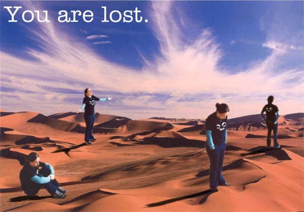 You are lost