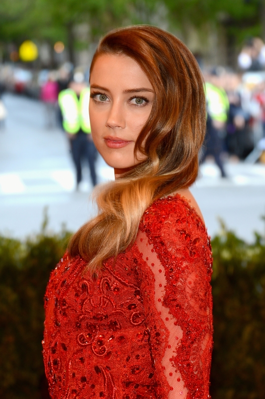 Amber Heard In Pucci At The MET Gala 2013Lainey Gossip