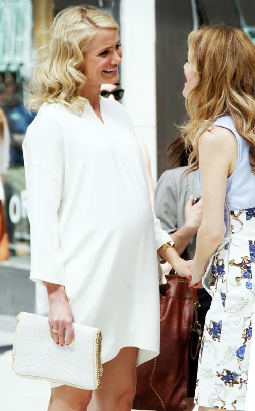 Cameron Diaz Is Pregnant And Kissing On The Set Of The Other WomanLainey Gossip Entertainment