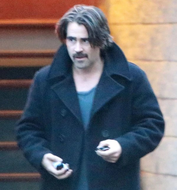 Colin Farrells Longer Hair For True DetectiveLainey
