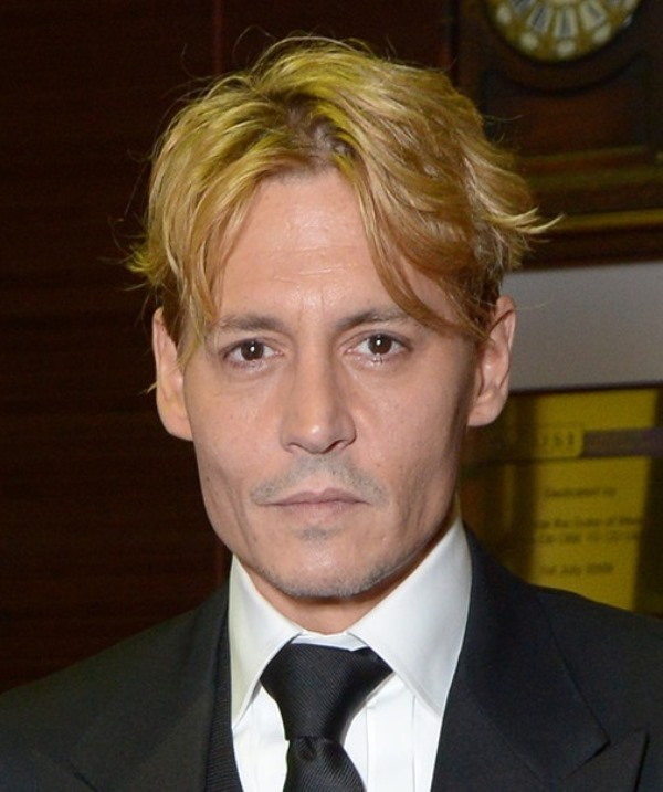 Johnny Depp Is BlondeLainey Gossip Entertainment Update