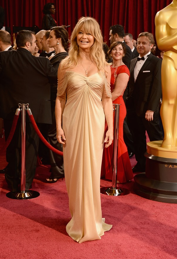 Goldie Hawn At The Oscars 2014Lainey Gossip Entertainment