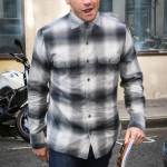 Paul Dano Jake Gyllenhaal out in London in plaid to promote ...