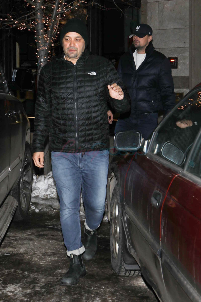 Leonardo DiCaprio Spends New Years In Aspen With Model