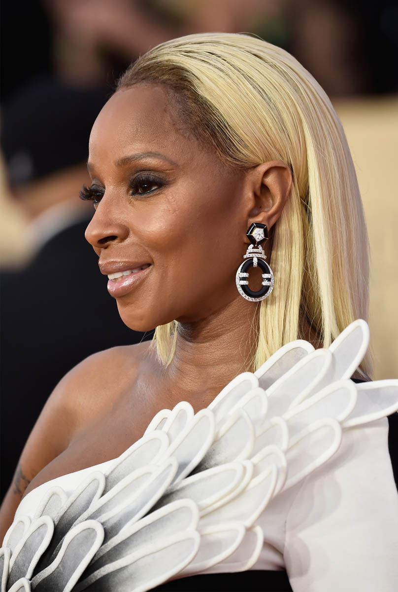 Image result for mary j blige sag awards 2018 red carpet