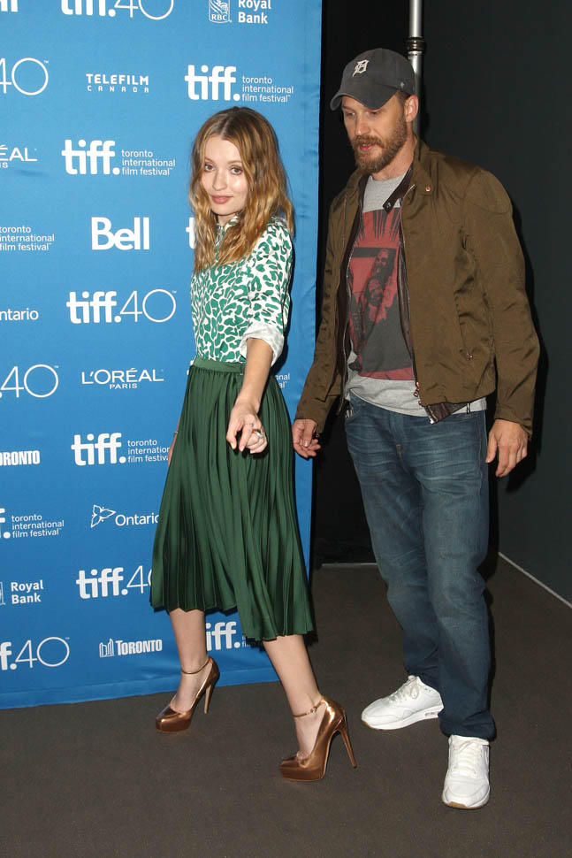 Emily Browning Promotes Legend At 2015 Toronto