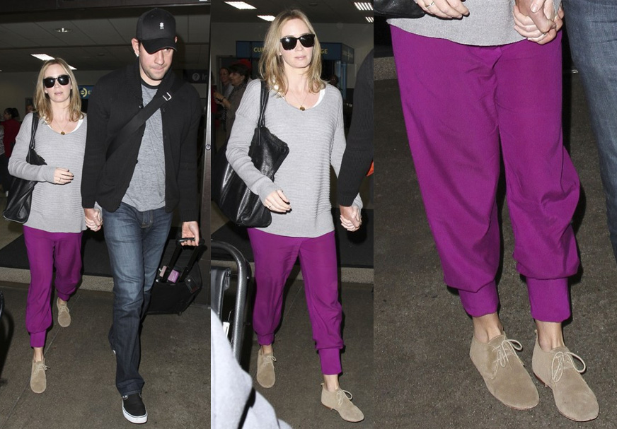 Sasha Finds: Emily Blunt's Casual Pants
