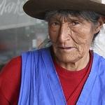Street vendor in Cuzco, Peru