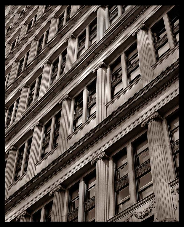 Urban Perspective, fine art photograph by Michael Barton