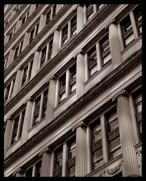 Urban Perspective, fine art photograph by Michael Barton