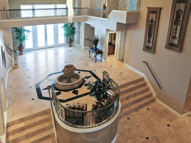 the first house Michael Jackson lived in Las Vegas