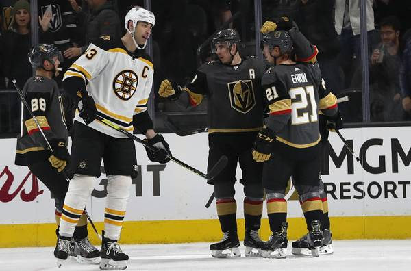Live Blog: Golden Knights all square with Bruins after 1