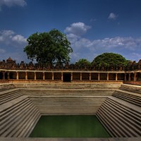The Stepped Pond @ Bhoganandishwara Temple