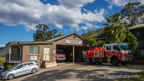 Wisemans Ferry RFB Station. The Hills DistrictSeptember 2013