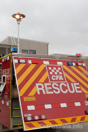 CFA Melton Rescue. December 2008