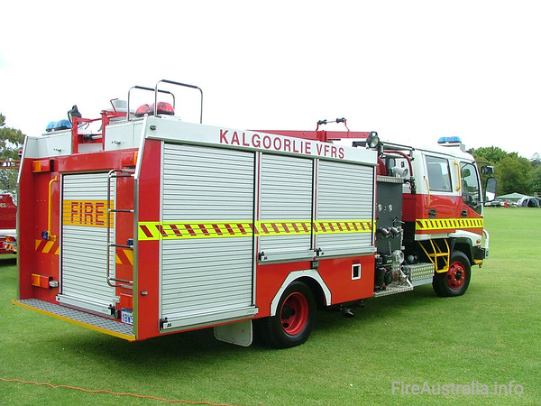 Kalgoorlie FRS Country PumperKalgoorlie FRS Country Pumper on display at Easter Championships 2005