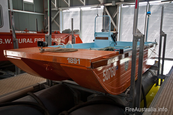 NSWRFS Woronora Fire Brigade - a water based Brigade with Boats