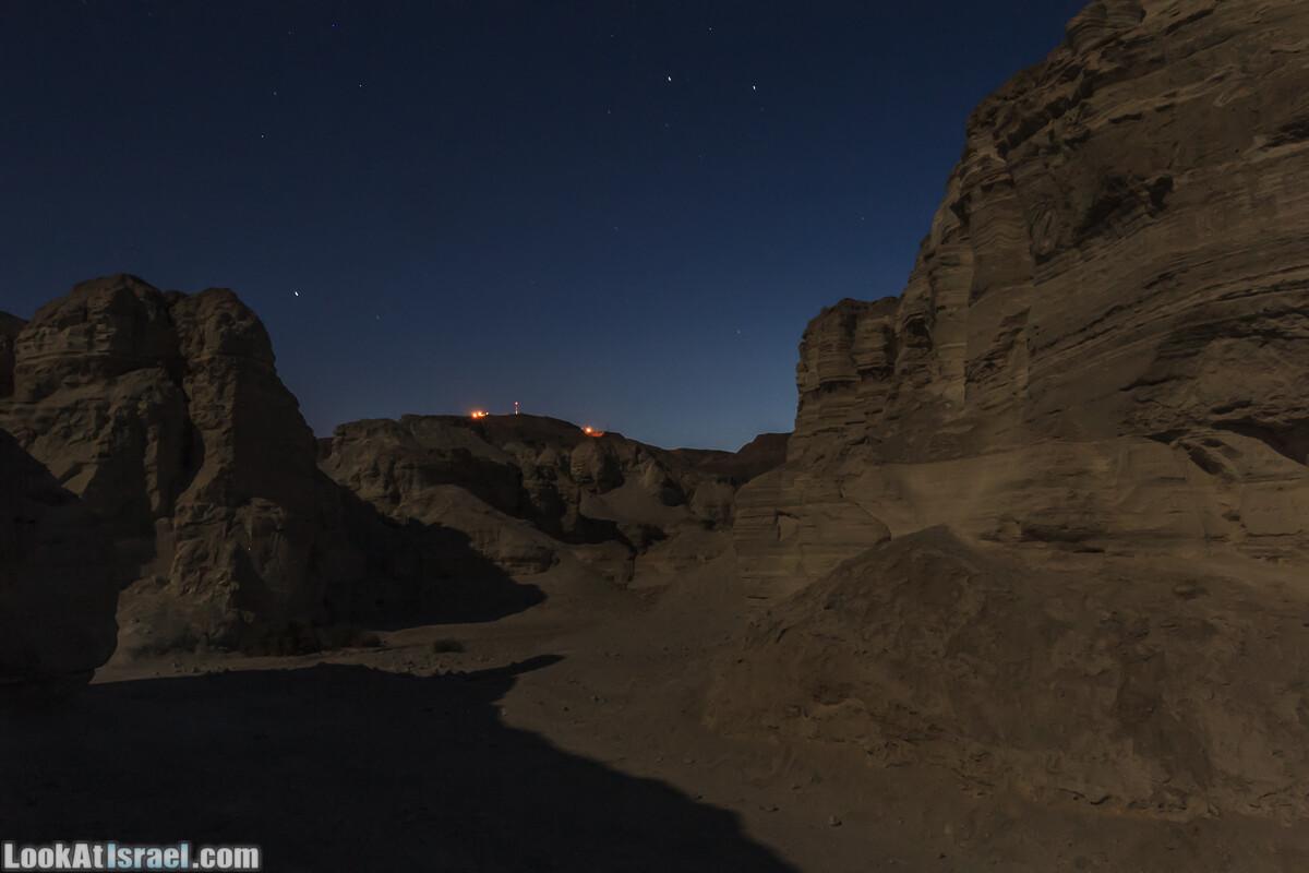 Ночь в ущелье Працим