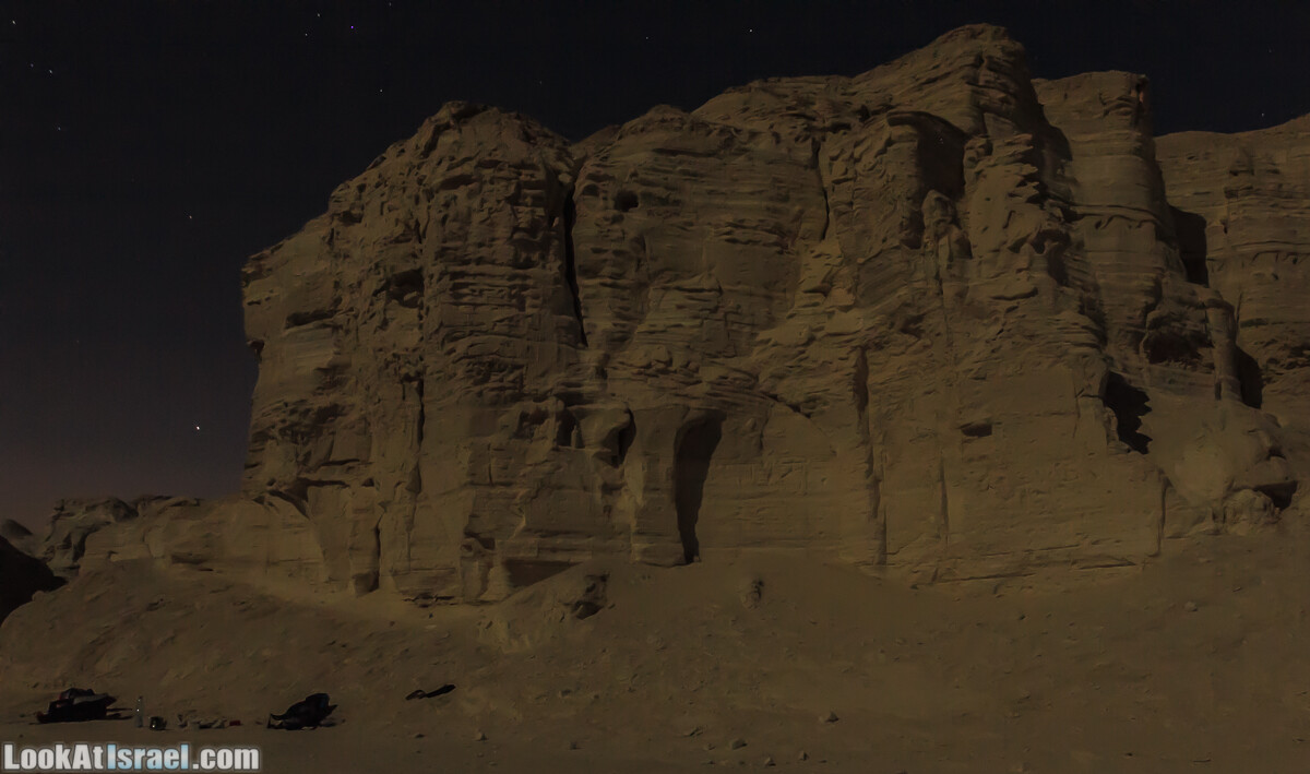 Ущелье Правим ночью | LookAtIsrael.com - Фото путешествия по Израилю