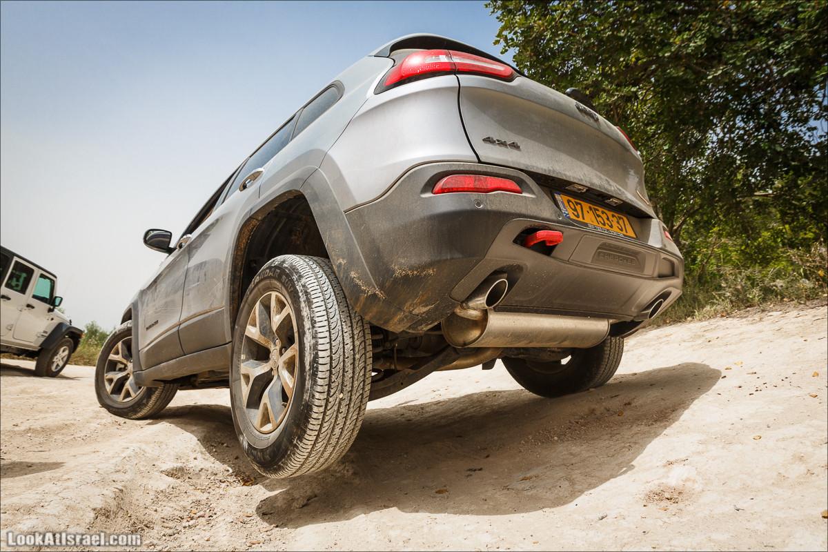 Курс езды по бездорожью клуба Jeep в Израиле   LookAtIsrael.com - Фото путешествия по Израилю