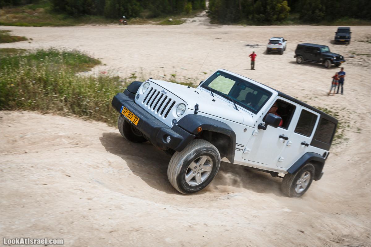 Курс езды по бездорожью клуба Jeep в Израиле | LookAtIsrael.com - Фото путешествия по Израилю