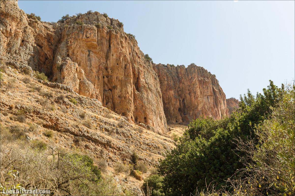 Нахаль Ахбара и нижний Амуд | LookAtIsrael.com - Фото путешествия по Израилю