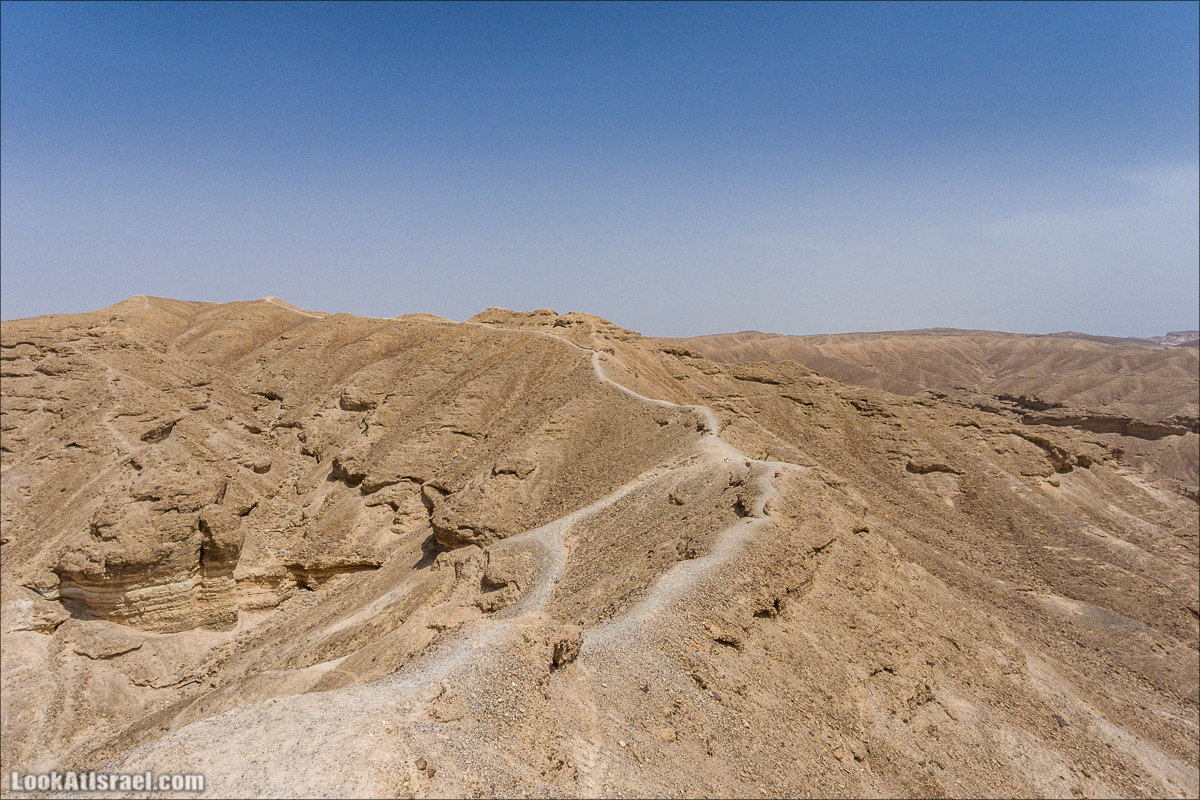 Каньон Ада и ручей Паран - Вид сверху   LookAtIsrael.com - Фото путешествия по Израилю