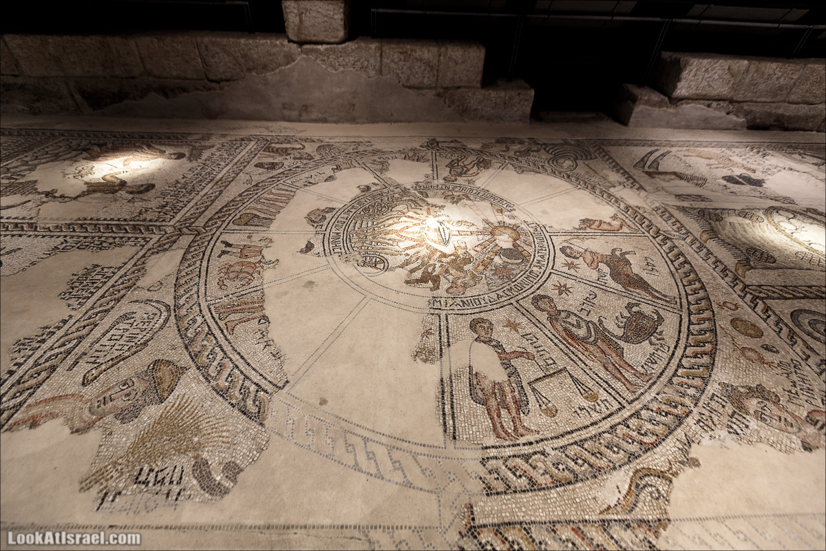 Мозаики в Ципори | LookAtIsrael.com - Фото путешествия по Израилю