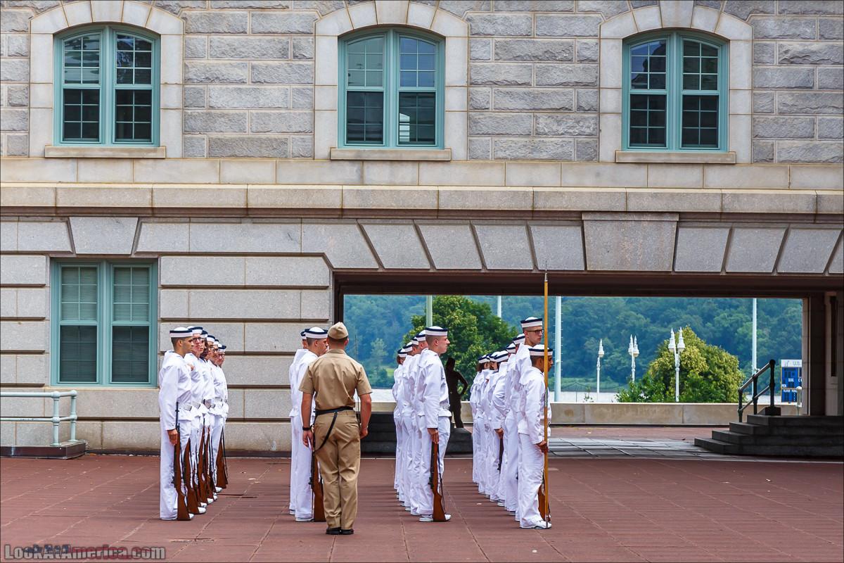 Военно-морская академия США, Аннаполис   LookAtAmerica.com - Большое Американское путешествие LookAtIsrael.com