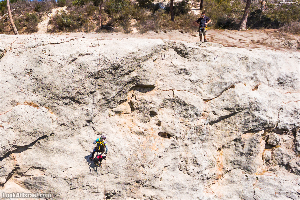 Снеплинг тренировка с скалах горы Кармель | LookAtIsrael.com - Фото путешествия по Израилю