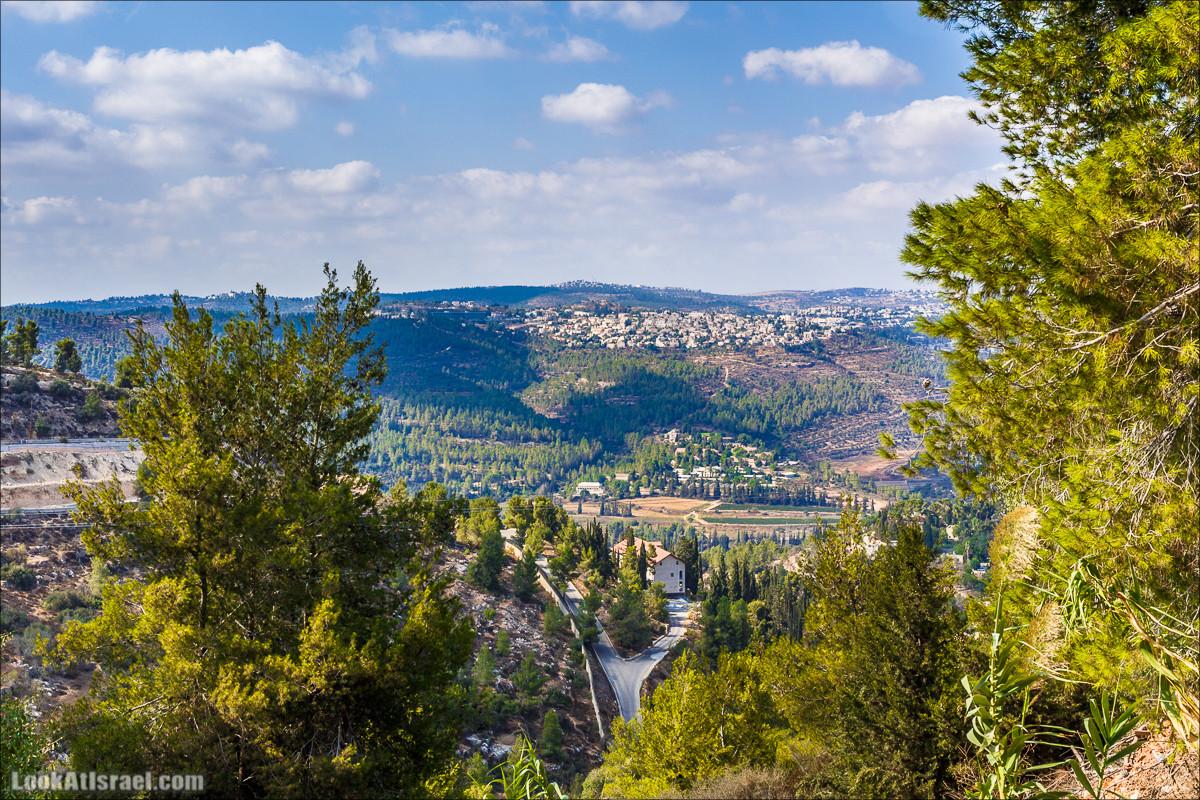 Прогулка по иерусалимским горам. От зоопарка до Моца | LookAtIsrael.com - Фото путешествия по Израилю
