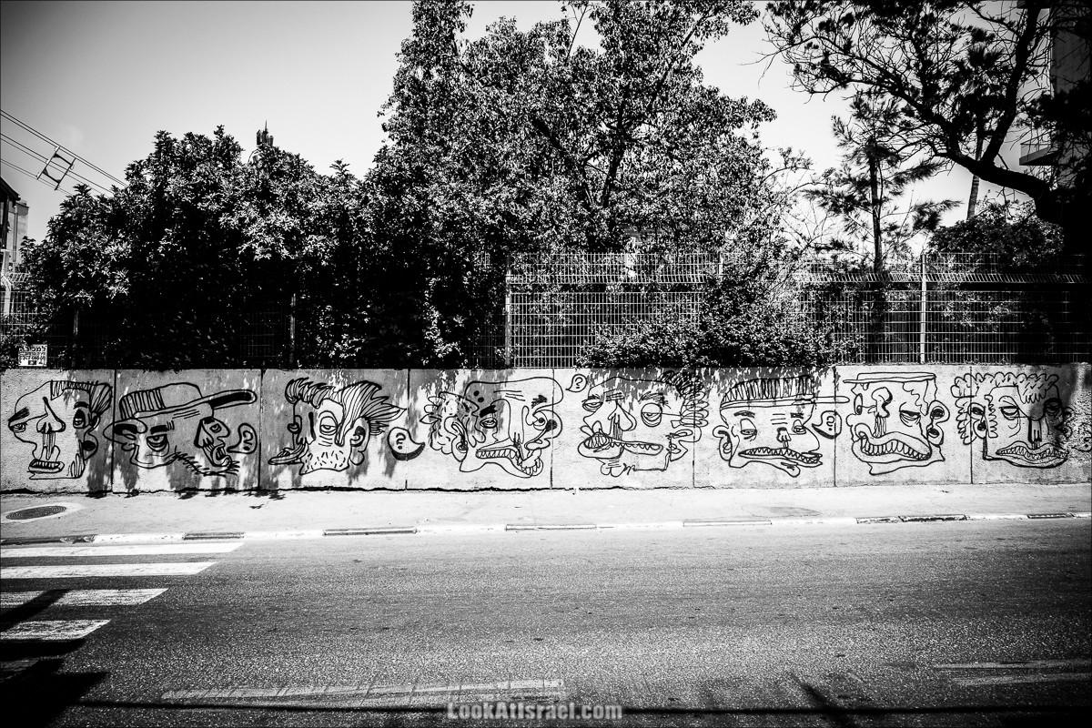 LookAtIsrael.com - Граффити Тель Авива   Tel Aviv street art