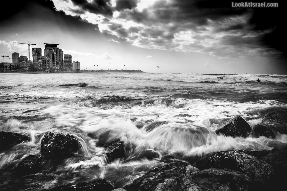 Море в Тель Авиве | LookAtIsrael.com - Фото путешествия по Израилю