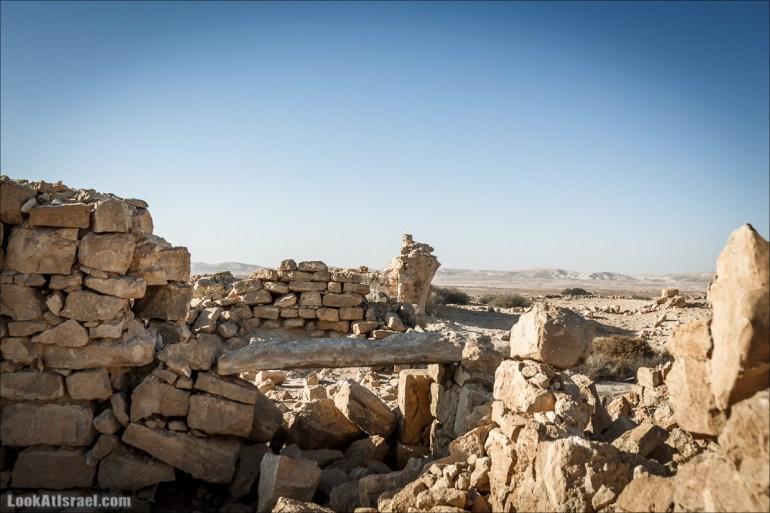 Город Набатеев Шивта   Shivta   שבטה   LookAtIsrael.com - Фото путешествия по Израилю