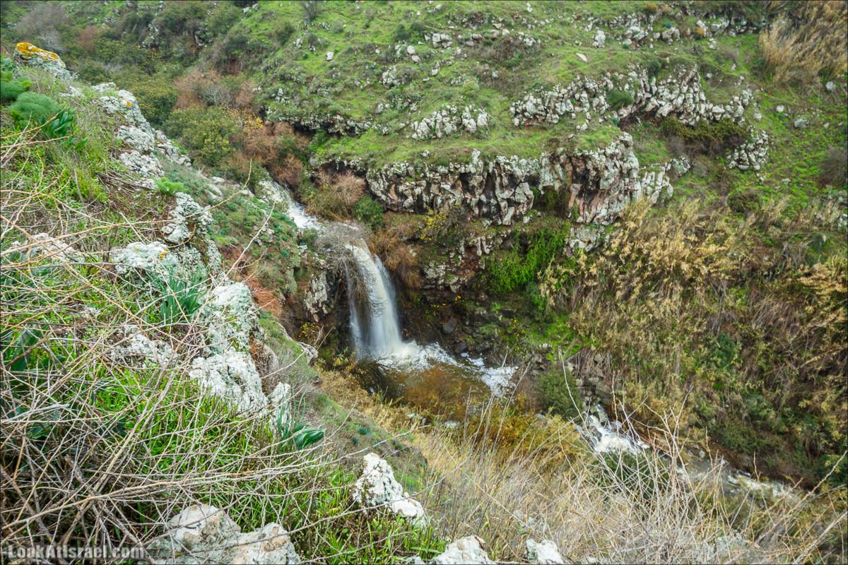 Водопад Аит, Голанские высоты - водопады и исторические места   LookAtIsrael.com - Фото путешествия по Израилю