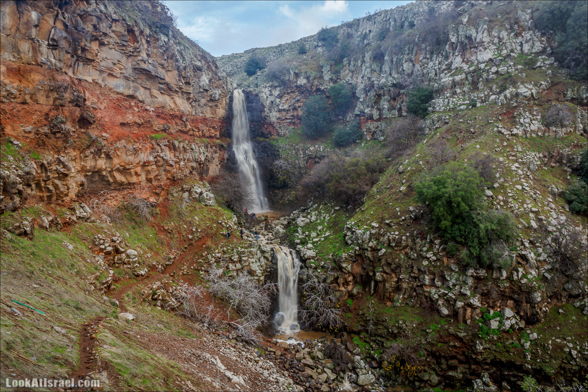Водопад Орвим, Голанские высоты - водопады и исторические места | LookAtIsrael.com - Фото путешествия по Израилю