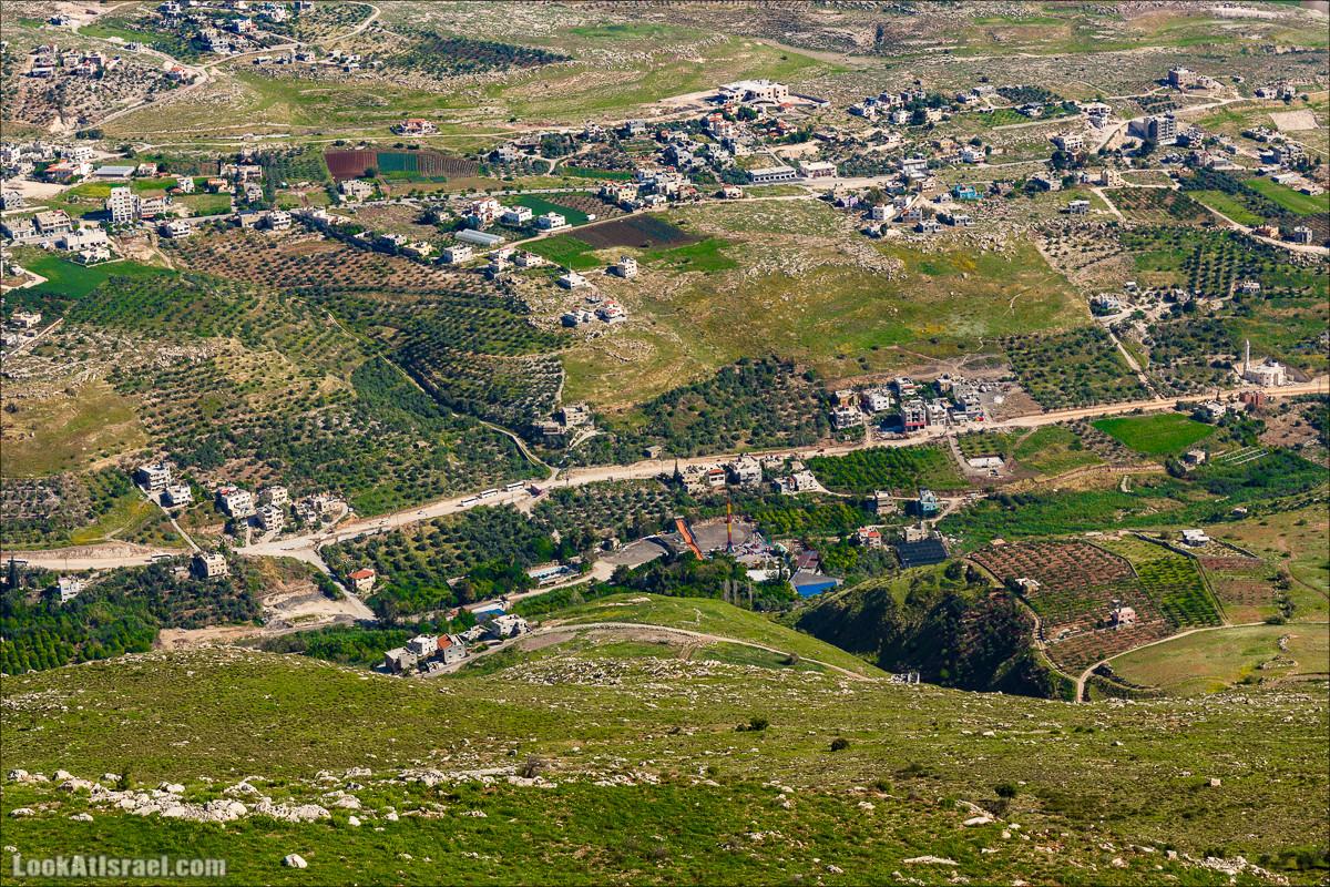 Гора Кабир и цветение самарийского ириса | הר קביר ואירוס שומרוני | LookAtIsrael.com - Фото путешествия по Израилю