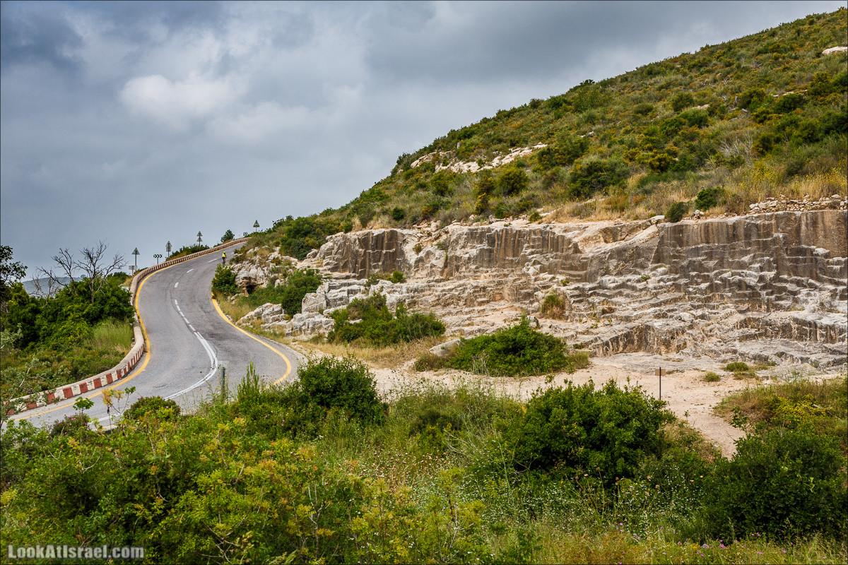 Каменные волны ручья Орен и пещера Палец