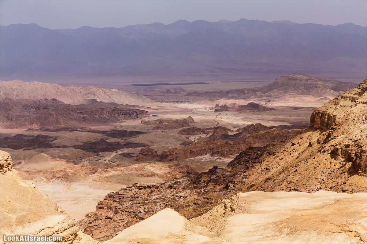 Долина Тимна с другой стороны | LookAtIsrael.com - Фото путешествия по Израилю