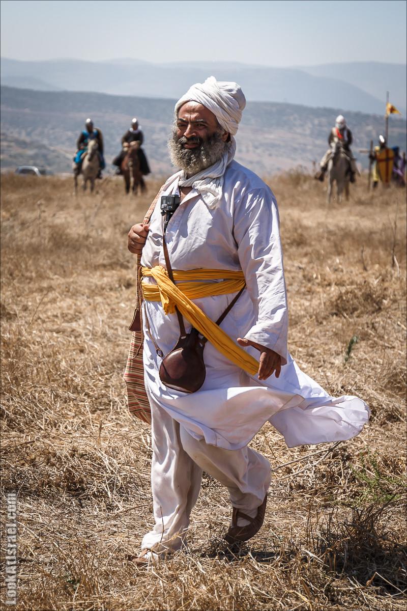 Реконструкция битвы при Карней Хиттин | Horns of Hattin battle reconstruction | LookAtIsrael.com - Фото путешествия по Израилю