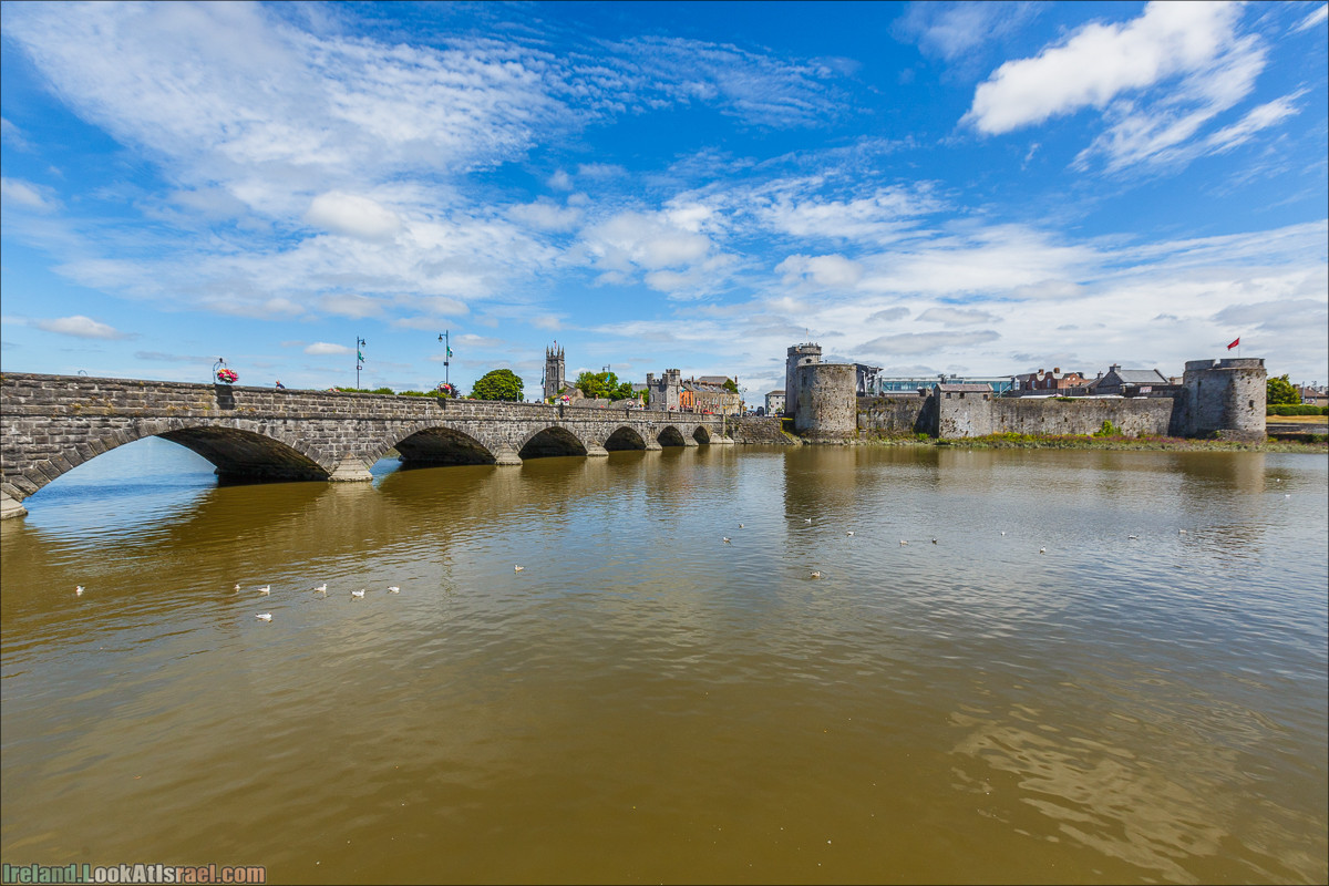 Лимерик и замок Иоанна Безземельного - LookAtIsrael.com путешествует по Ирландии