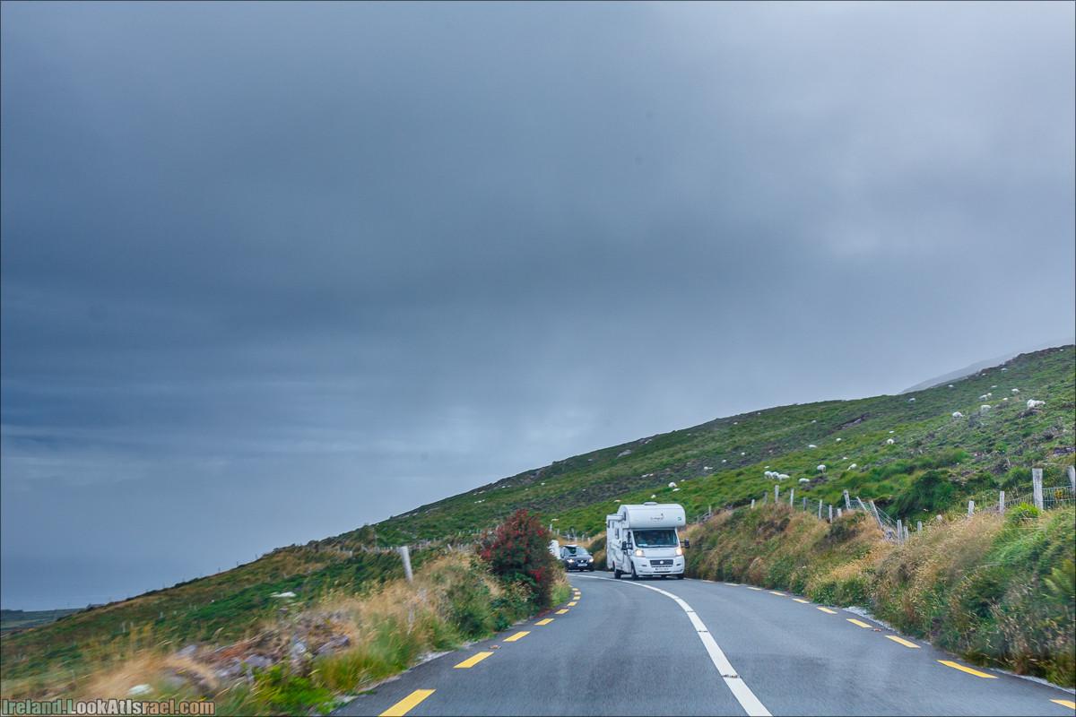 Кольцо Керри, Уотервиль   The Ring of Kerry, Waterville   LookAtIsrael.com путешествует по Ирландии