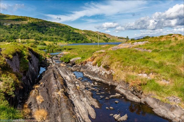 Кольцо Беара, каменное колцо Юраа и вододад парка Гленинчакин | The Ring of Beara, Uragh Stone Circle, Gleninchaquin Park & Waterfall | LookAtIsrael.com путешествует по Ирландии