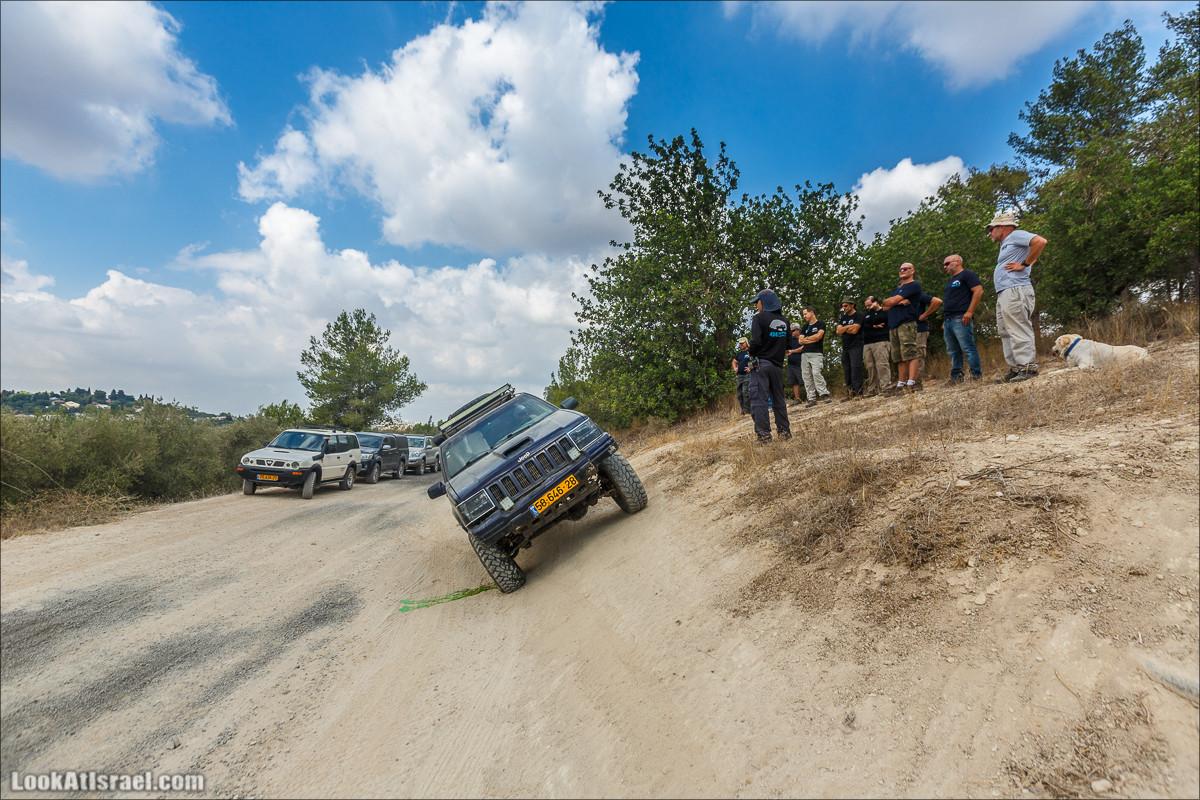 Курс бездорожья | מוסמך שטח שבילים LookAtIsrael.com - Фото путешествия по Израилю