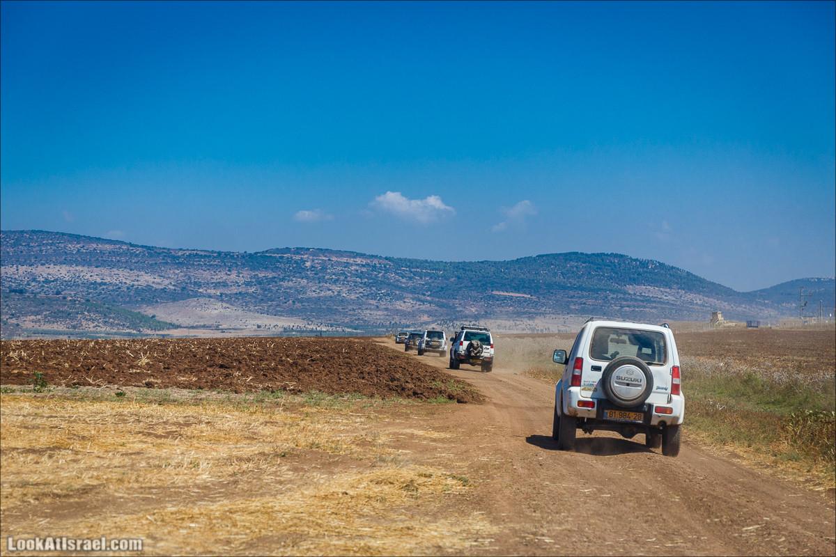 Ципори и Нетофа - там где красиво и очень холодно