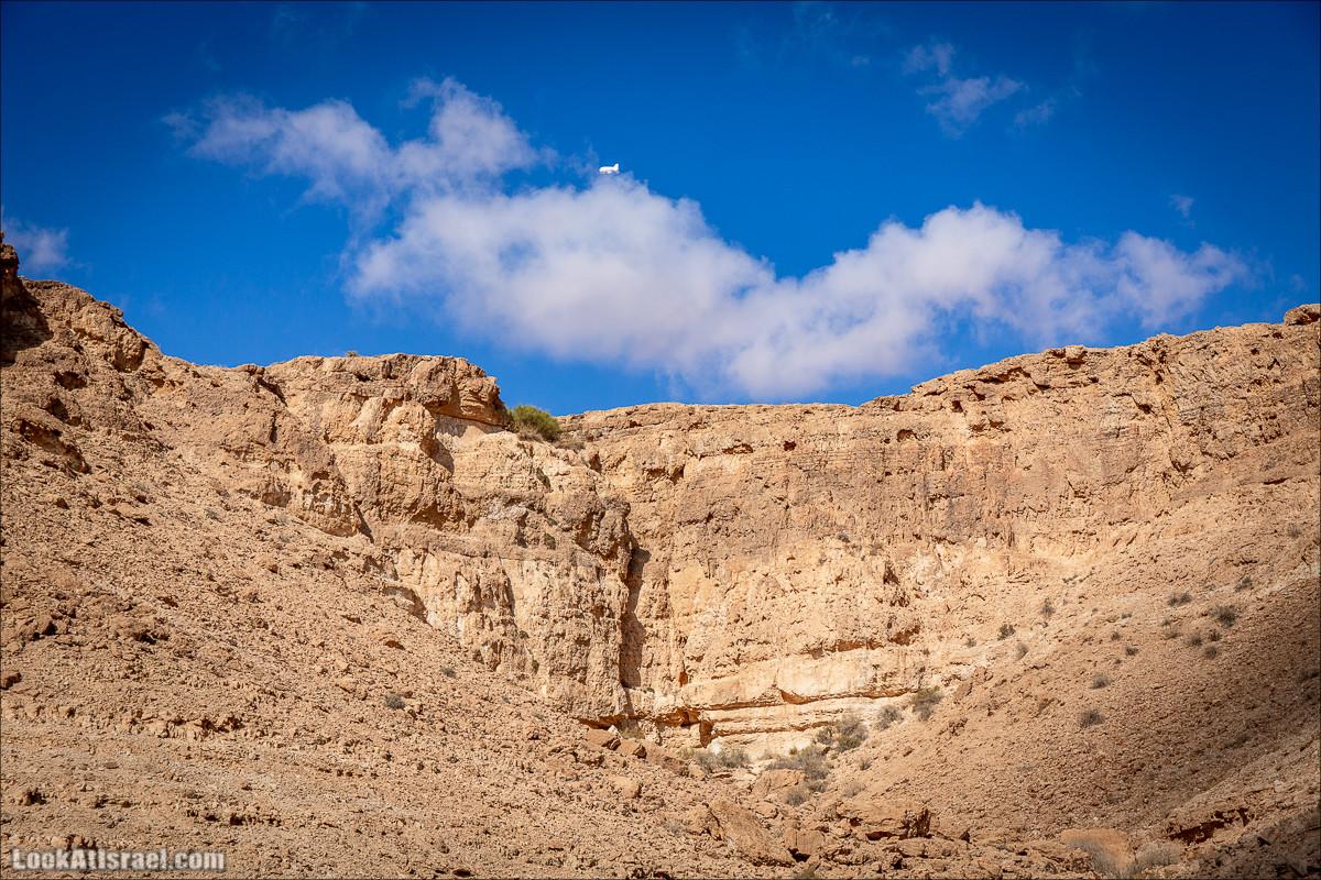 Скорпионий подъём - Маале Акрабим - Римская дорога | מעלה עקרבים | LookAtIsrael.com - Фото путешествия по Израилю