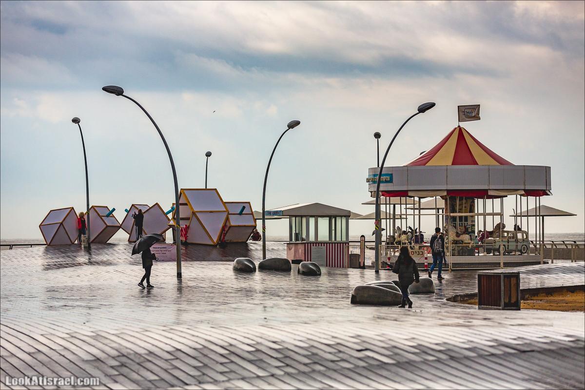 Дождливые выходные в Тель-Авиве | LookAtIsrael.com - Фото путешествия по Израилю