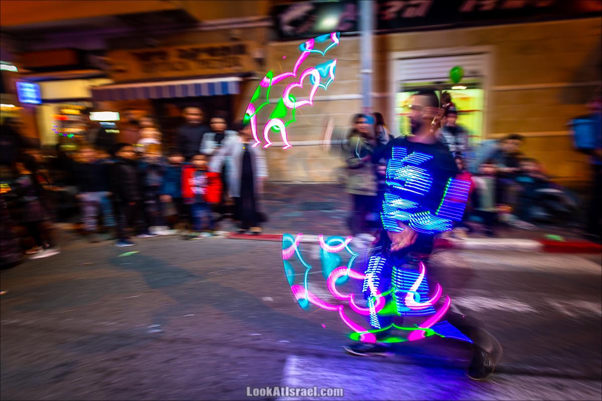 Рождественский парад в Яффо