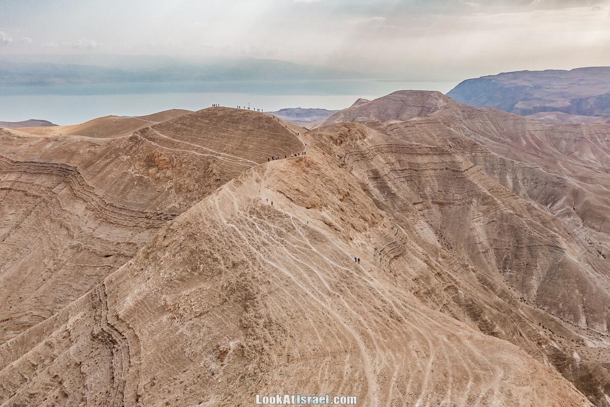 Иудейская пустыня, Мацок а-Этеким, плечо Тора
